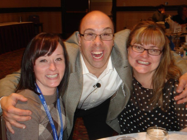 Robert with Tina and Holly at the DS HR Strategy Conference, Toronto 2013.