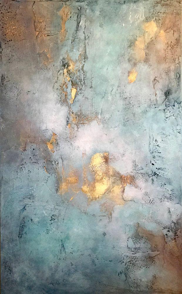 Evening Splendor Ginger Thomas Studios Abstract Artist