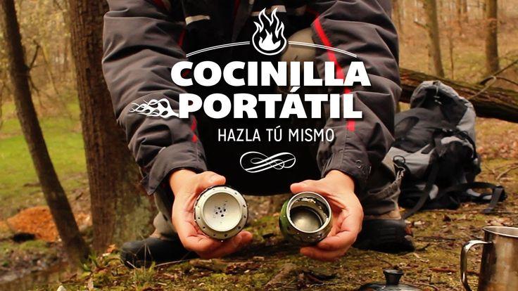 How to make portable alcohol stoves with cans. Cómo hacer cocinillas de alcohol portátiles con latas.  Suscríbete al canal http://goo.gl/WunXA9   #mochileros #viajes #outdoor #travelhack #mochilero #inspiration #fun #diy #fire #bushcraft