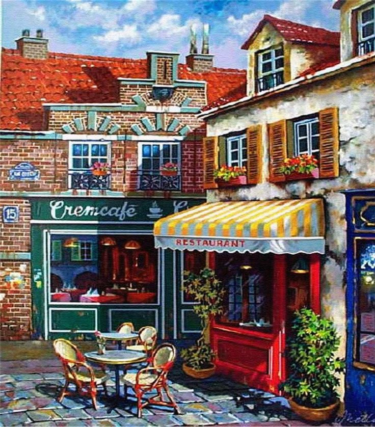 Anatoly Metlan #Scenery #Art. For more great pins go to @KaseyBelleFox.