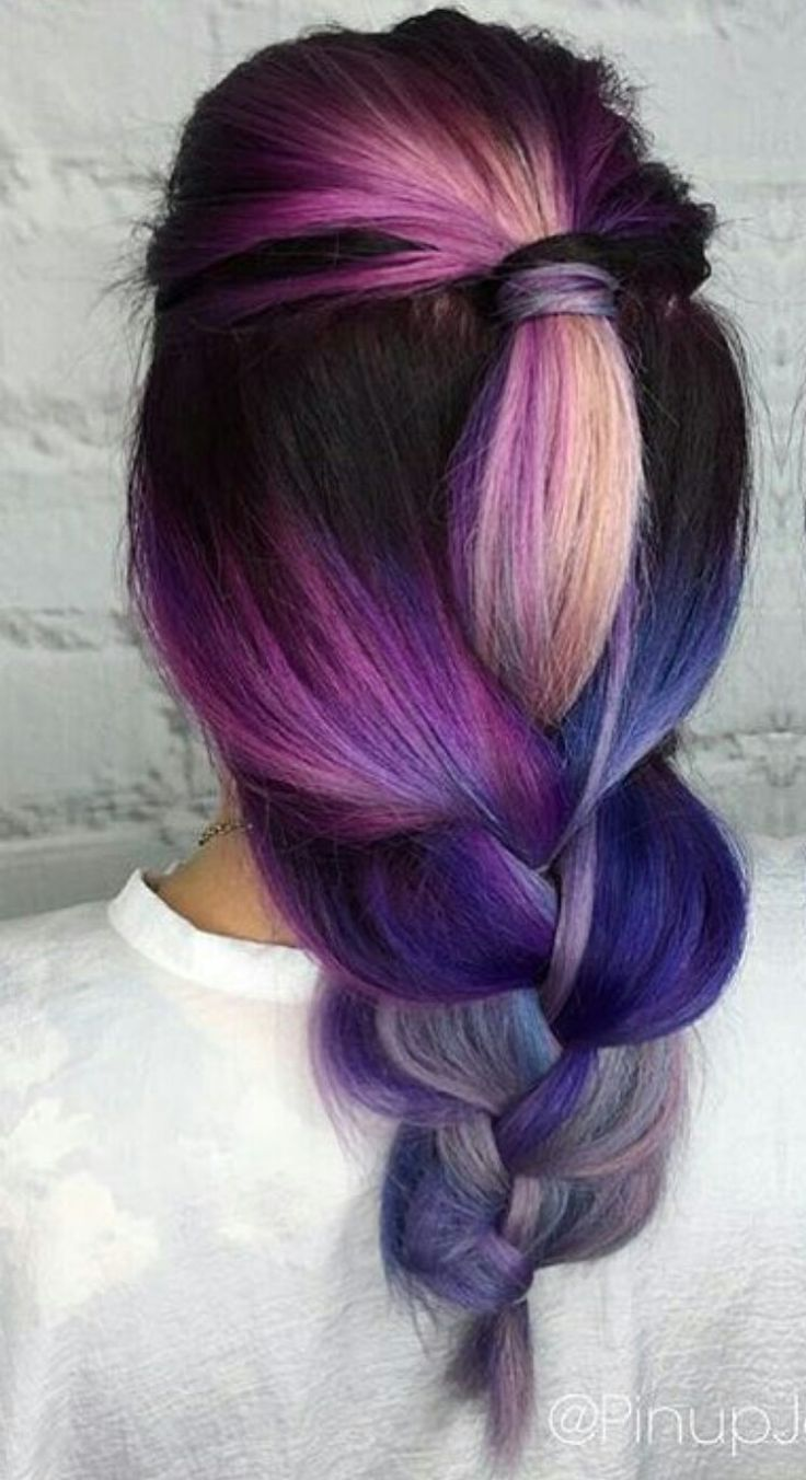 Pics Of Colored Hairstyles | Fade Haircut