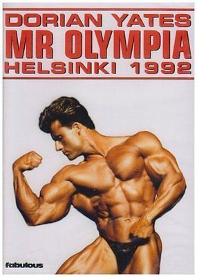 Dorian #yates - mr #olympia - #helsinki 1992  dvd***new***,