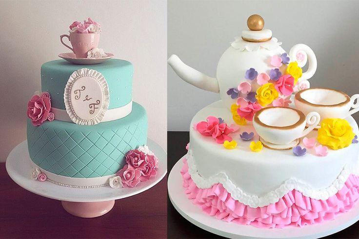 Sugestões de bolo para o seu chá de panela - Universo das Noivas