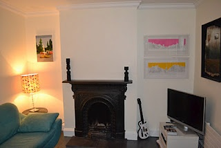 My living room: Put in this Victorian fireplace and reinstated the plasterwork. http://motheach.blogspot.com