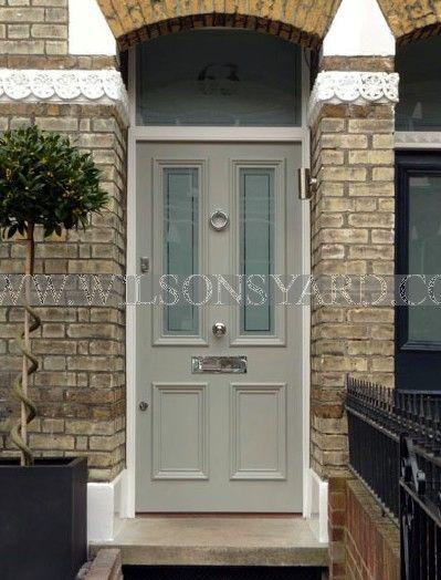 Exquiste Victorian door, frame & fanlight | Wilsonsyard.com