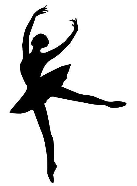 Ballet Silhouette Ballerina Art Ballet Silhouette