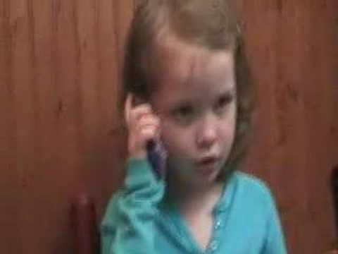 BOYFRIEND RULES - Little Girl's dating advice - Funny Toddler Improv Phone Talk - YouTube