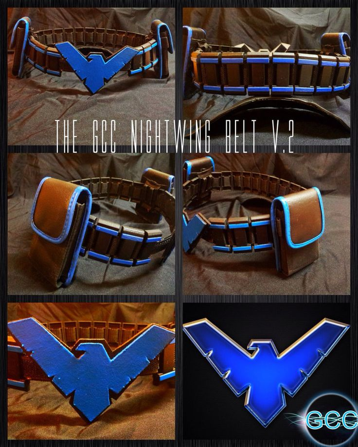 The GCC Nightwing Utility Belt by Cadmus130 on DeviantArt