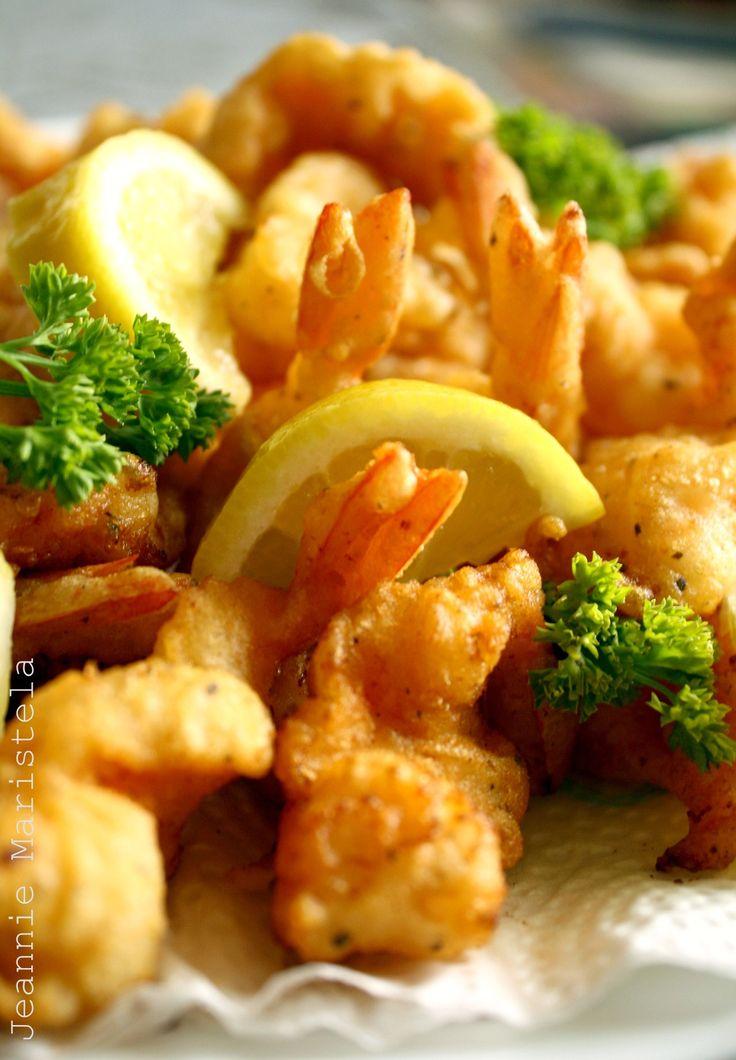 Crispy Battered Shrimps #seafood #shrimp