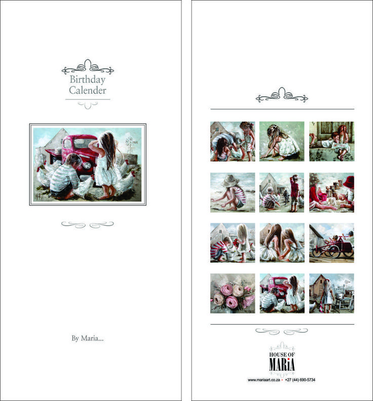 Birthday Calendars by Maria http://houseofmaria.com/search?type=product&q=birthday