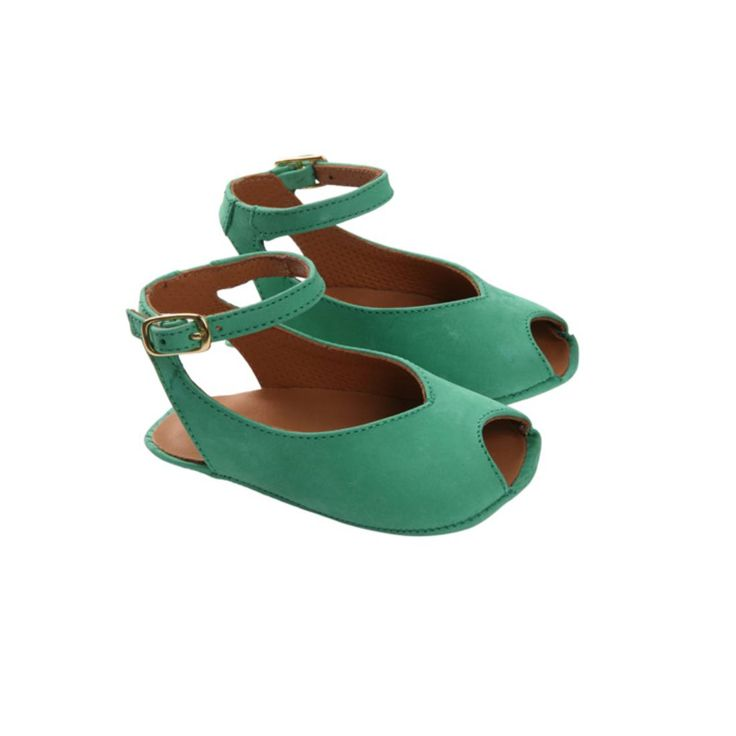 Kiddie fashion.. Seriously too cute! MALOLES 30 - PETITE BARBARA Suede sandals