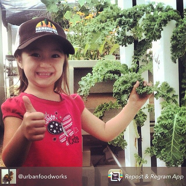 The next generation of farmers is loving ZipGrow towers!