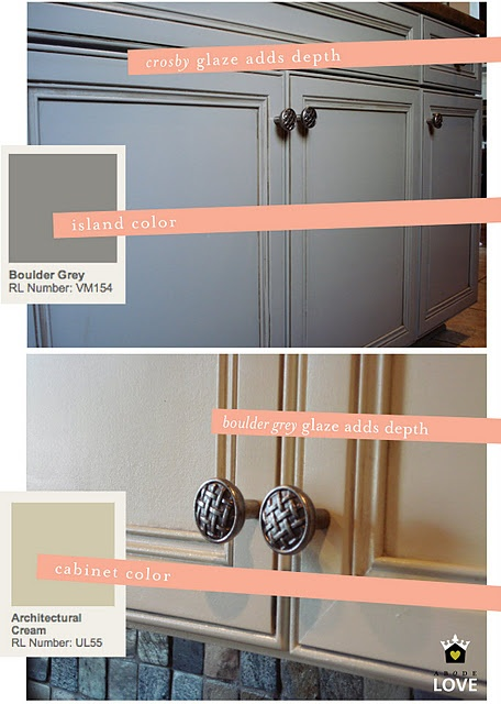 17 best images about gray glazed kitchen cabinets on for Suggested colors for kitchens