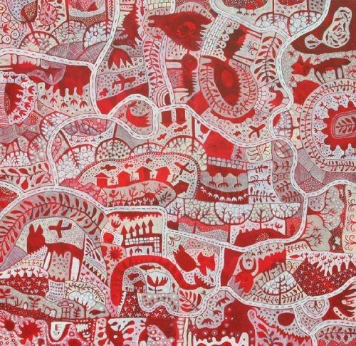 The Fishing Map - by Gus Leunig - Australian artist