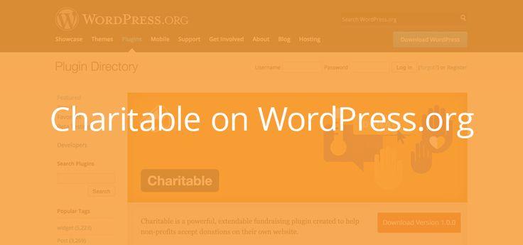 Charitable is now on WordPress.org  https://wordpress.org/plugins/charitable