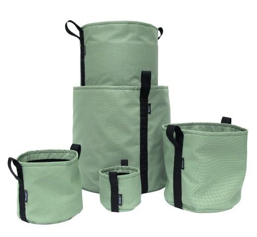 BACSAC® BATYLINE® plantenzakken in de kleur Olive - Olijfgroen, verkrijgbaar in de maten 3, 10, 25, 50 & 100 liter potten