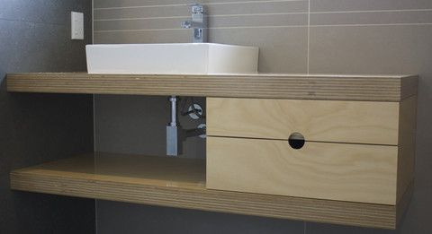 Simple joinery for bathrooms