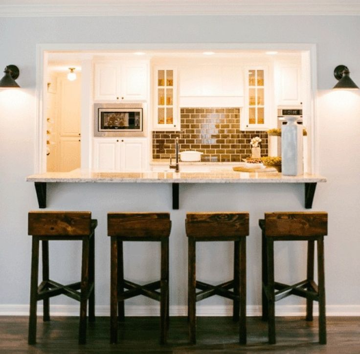 Kitchen Island 4 X 6: These Barstools Are Made From Long Leaf Pine. The Seat Is