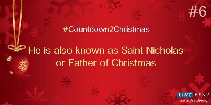 #Countdown2Christmas #StNicholas #FatherofChristmas