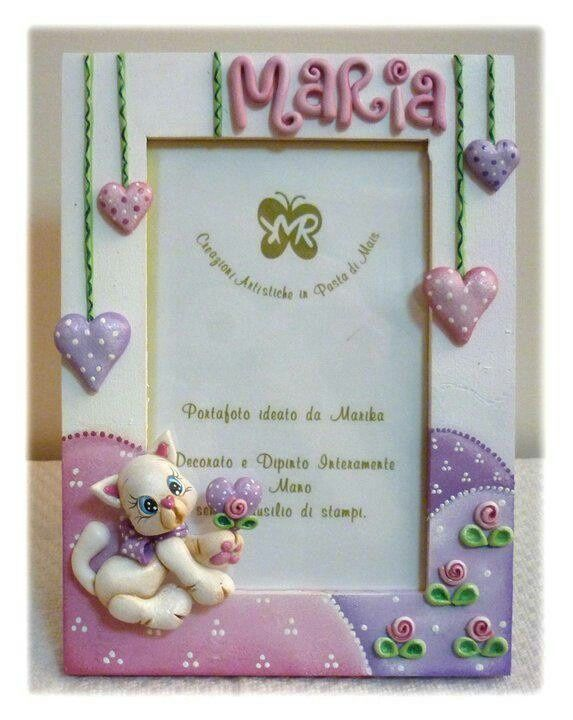 Portaretratos on Pinterest | Painted Picture Frames, Decoupage and ...
