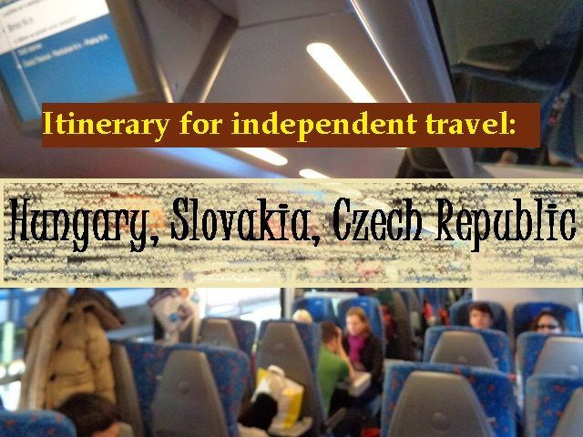 Follow our itinerary and travel independently through Hungary, Slovakia and Czech Republic! http://www.footprintsandmemories.com/2017/01/11/itinerary-hungary-slovakia-czech/