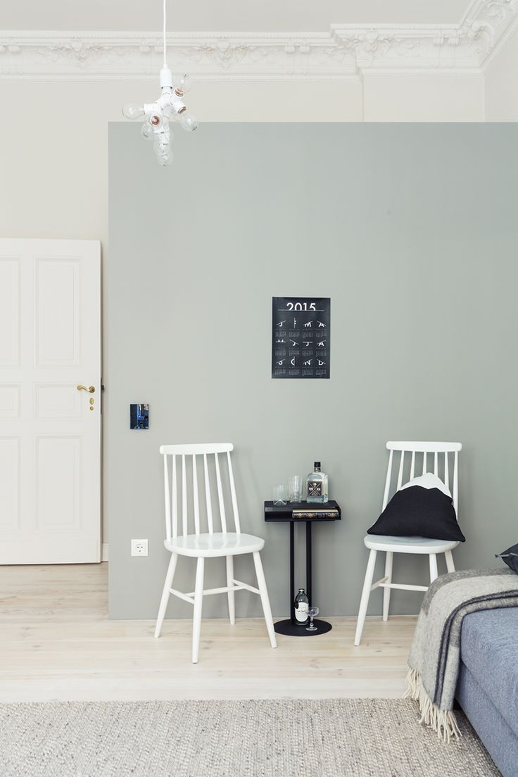 Turn of the century apartment in Berlin Schoneberg - featuring a Herðubreið cushion from Markrun.com - www.cocolapinedesign.com