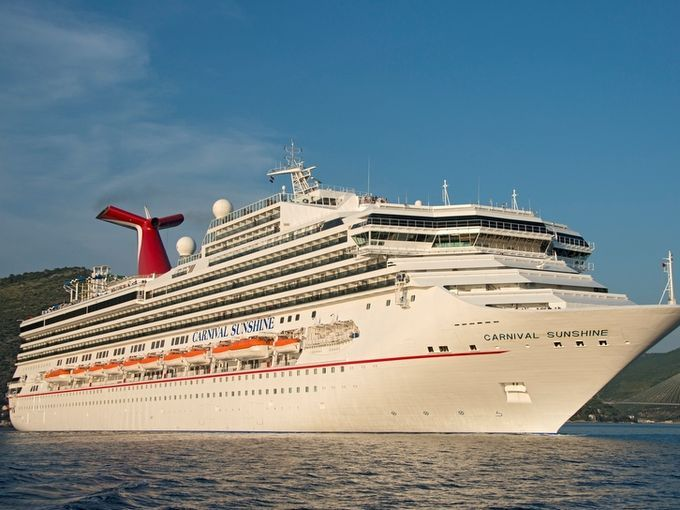 Revamped Carnival ship renamed in New Orleans