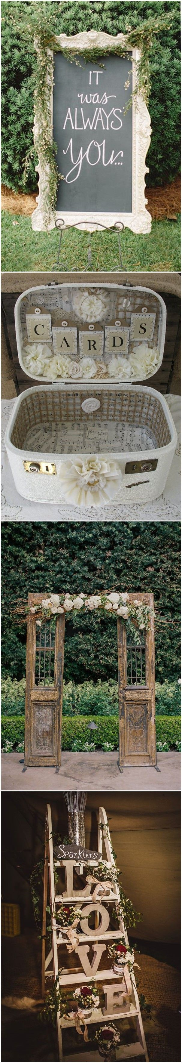 Perfect 21 Shabby Chic Vintage Wedding Ideas You Cannot Resist!