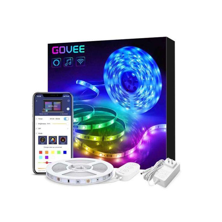 2 govee smart wifi 164ft 5050 led light strips in 2020