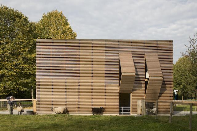 wood screen houses, designboom - Google Search