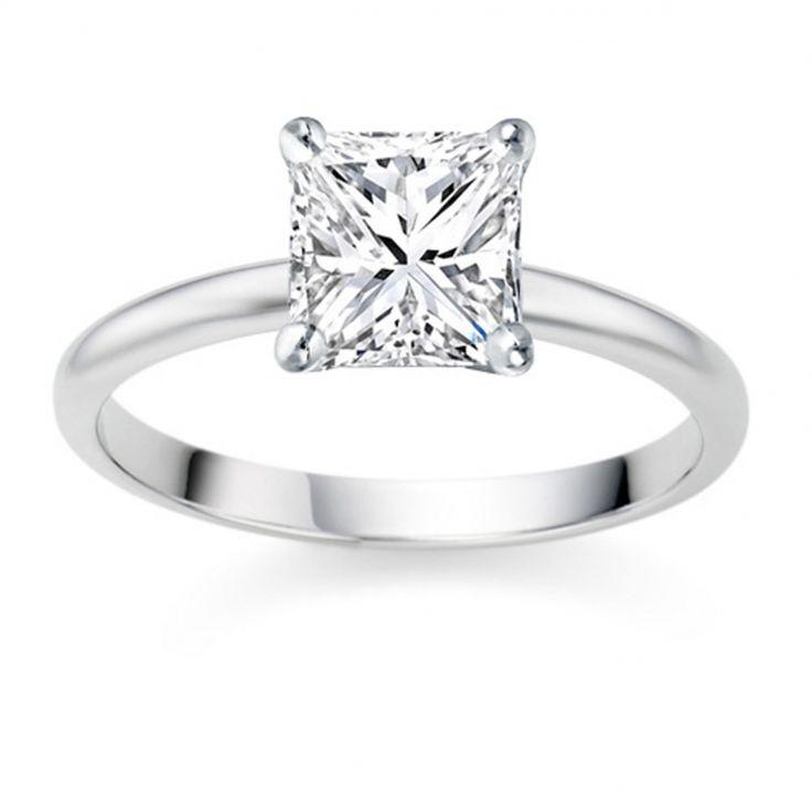 Square Cut Diamond Engagement Rings 'Uk'