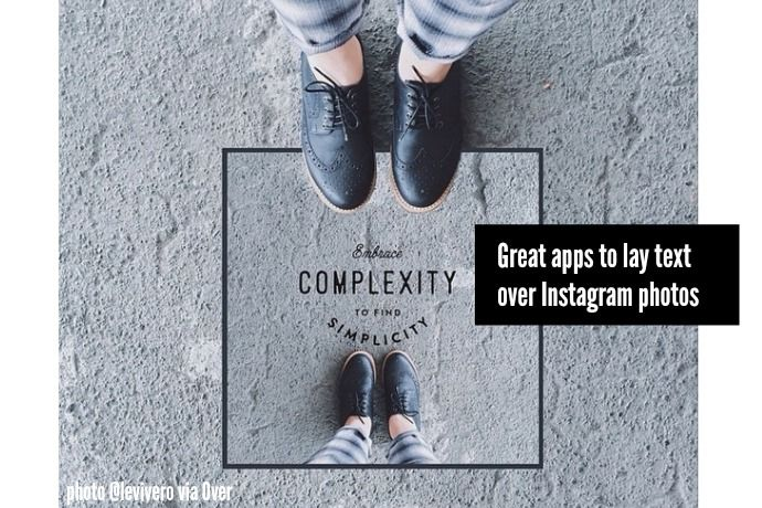 A reader asked for a good Instagram app that lets you add text to your pics, and we're serving three of the very best.