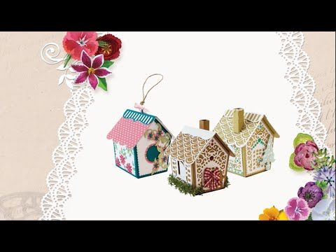 Tonic Tutorial - Build and Decorate The Gingerbread House - Dawny Phillips - YouTube