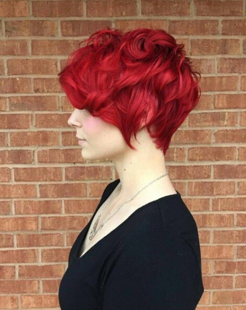 Messy,Curly Hairstyle for Short Hair 2016