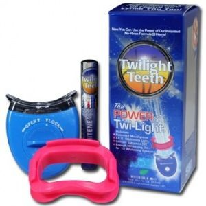 Whitening your teeth is now one of the easiest and most cost effective procedures you can do to improve your appearance. You can obtain whitening results that only dentists could achieve, as well as save time and money, by using Twilight Teeth. Twilight Teeth brings you the same whitening process used in dental offices, but in a special kit, complete with a mouthpiece and a simple application process with an enjoyable mint flavor.