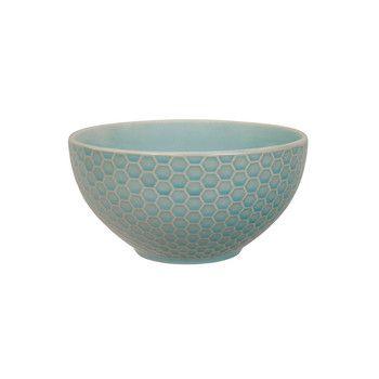 Tokyo Design Studio - Textured Honeycomb Cereal Bowl - Celadon