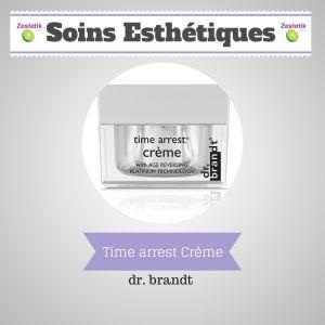 Time Arrest un cosmétique de la marque Dr Brandt, la particularité de cette marque vient du fait que le Dr Brandt est un dermatologue et con...http://zestetik.fr/magazine/time-arrest-creme/