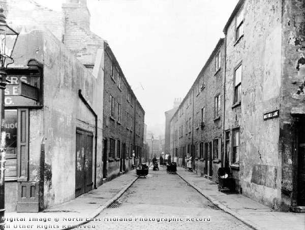 Malt Mill Lane, Narrow Marsh 1934 William C Lawson 1882