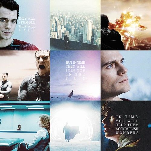 Man of Steel. [Favorite quote from the movie...]
