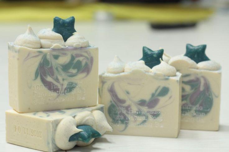 Winter image soap - cocoon & kaolin clay soap