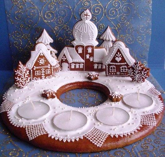 Mézeskalács / Gingerbread by Libuše Mokrá