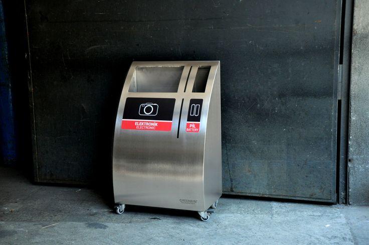 electronic waste bin