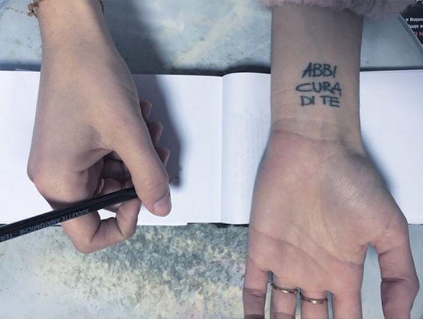 abbi cura di te tatuaggio levante - Cerca con Google