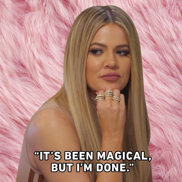 How to dismiss someone you don't like. #KUWTK