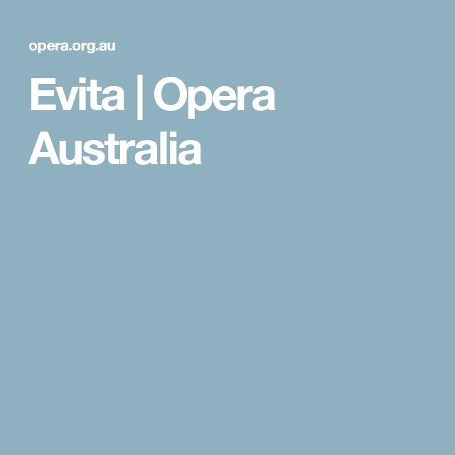 Evita | Opera Australia