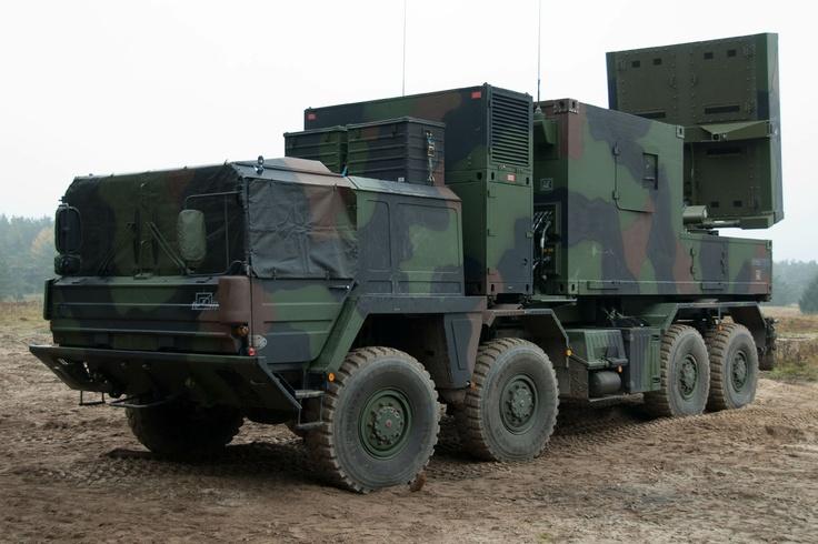 Cobra Artillery Locating Radar System (Germany)
