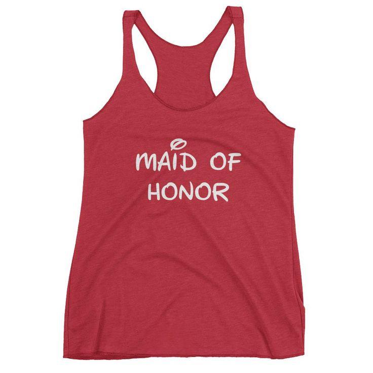 Disney Maid of Honor Tank Top