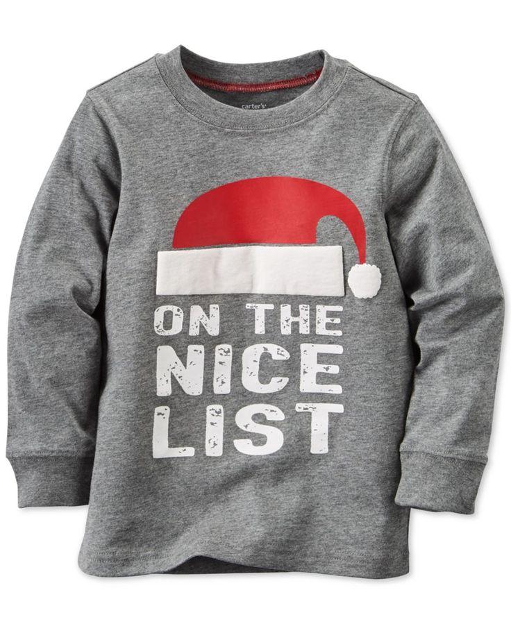 Carter's Baby Boys' On The Nice List T-Shirt