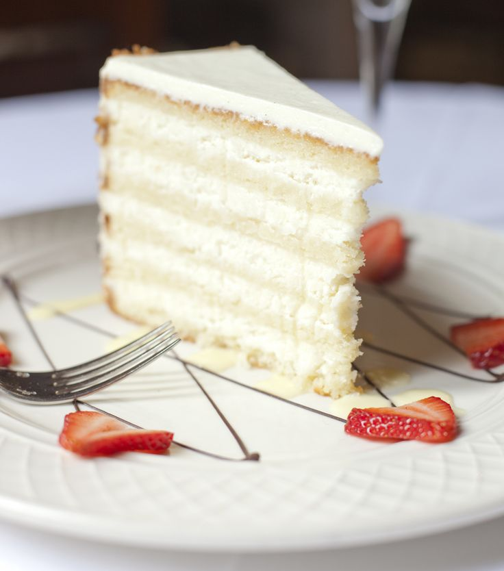 Refined by Peninsula Grill's Pastry Chef Claire Chapman, this cake tends to be the first choice of Charleston brides and has been given kudos by the likes of Martha Stewart, The New York Times, Vogue, and Bobby Flay. If you don't live in the area and want to order one, not to worry because the restaurant ships nationally on a daily basis. In the meantime, try making your own!