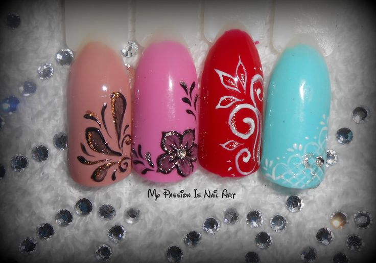 Simple gel nail art - idee decori in gel semplici e veloci
